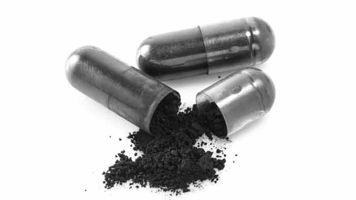 Activated charcoal pills for bloating