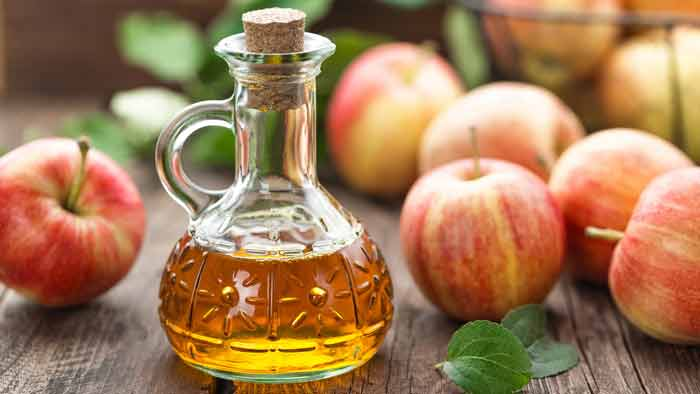 Apple cider vinegar for hair growth rinse recipe, dandruff benefits and side effects