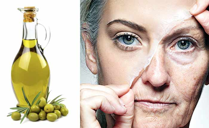 olive oil for wrinkles eyes forehead skin recipes